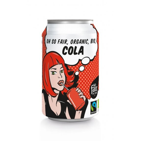 Cola w puszce 330 ml Oxfam ft