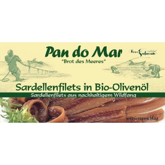Anchois w oliwie z oliwek 50 g Pan do Mar